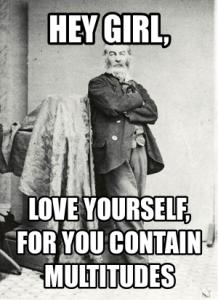 Body Lovin' Whitman